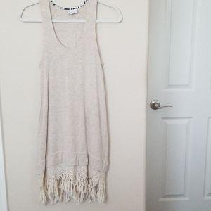 {Anthropologie} Dolan Macrame Dress